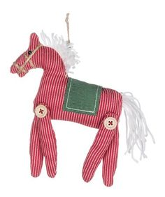 Love this Horse Ornament on #zulily! #zulilyfinds