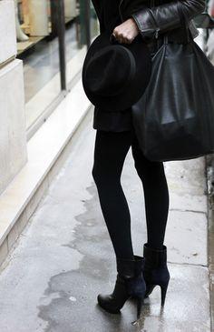 Basic black.