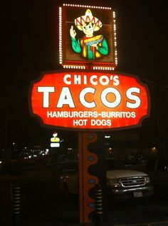 Oh, Chico's Tacos and your wonderful double order: You'll never get respect from the rest of America, but I give your home city of El Paso love as the fifth-most influential city in the evolution of Mexican food in the U.S...
