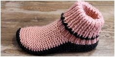 I needed just a simple slipper to keep my feet warm on our cold cement Floored kitchen and bathroom. This amazing DIY is easier than you think. Easy Crochet Slippers, Crochet Slipper Boots, Knit Slippers Free Pattern, Crochet Slipper Pattern, Baby Sweater Knitting Pattern, Crochet Cardigan Pattern, Crochet Shoes, Sweater Knitting Patterns, Knitting Socks