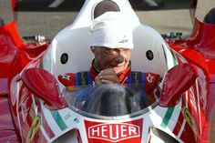 Niki Lauda in his 1976 Ferrari at the Austrian GP 2014
