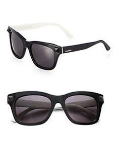 Valentino - Plastic Square Sunglasses
