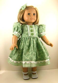 American Girl Doll 18 Inch Dolls St Patrick's Day by dressurdolly2, $22.00