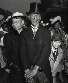 Easter Sunday in Harlem.1940.