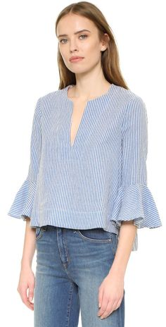 BCBGMAXAZRIA Valari Top | 15% off first app purchase with code: 15FORYOU