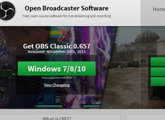 Open Broadcaster Software is free and open source software for video recording and live streaming.