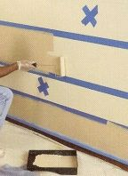 painting stripes on walls tutorial