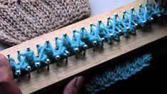 Bufanda con trenza en telar - COMO EMPEZAR (2de2))