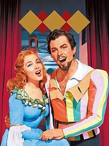 Kiss Me Kate - 1953.  Never I have a laughed so hard at a movie.  Never.