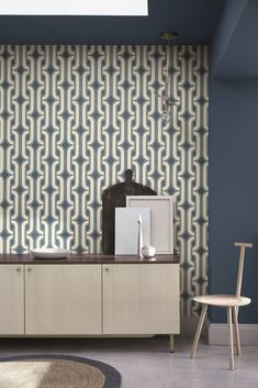 """Lavaliers"" - Little Greene. Hallway Wallpaper, Fern Wallpaper, Dining Room Wallpaper"
