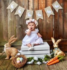 Baby girl photo shoot ideas mini sessions ideas baby first easter photography baskets 25 trendy ideas photography baby Photography Mini Sessions, Holiday Photography, Birthday Photography, Children Photography, Photography Props, Photography Classes, Girl Photography, Halloween Photography, Mountain Photography