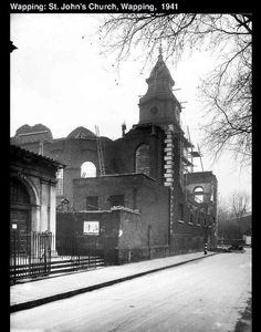 st johns wapping E1. where I was baptised in 1939