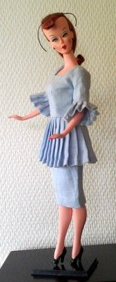 Bild Lilli like doll, Lilli Lalka... TheBild Lilli Dollwas a Germanfashion dollproduced from 1955 to 1964, based on the comic-strip character Lilli. She is the predecessor ofBarbie.