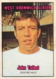 Nigel's Webspace - A&BC Chewing Gum - 1970/71, Footballers, Orange backs, West Bromwich Albion