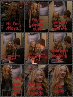 Sneak peek of Girl Meets World pilot! Maya's advice to Riley about Guys and Girls. LOL!!
