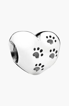 PANDORA 'My Sweet Pet' Heart Bead Charm   Nordstrom