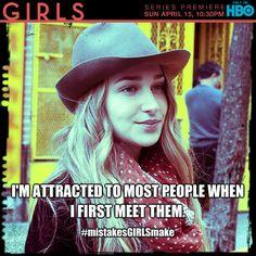 Jessa. #GIRLS #HBO #mistakesGIRLSmake