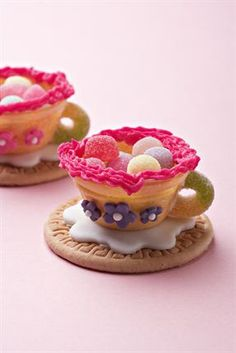 Little girls will go mad for these adorable tea cups.