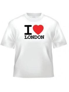 I Love London T Shirt