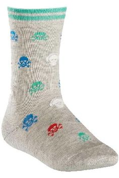 Falke Boys 1 Pair Falke Skull and Cross Bone with Well, we think young boys are going to totally love these Falke Skull and Cross Bone with Headphones Cotton Socks! Covered in colourful skulls, they already look good and ghoulish, but turn out the l http://www.MightGet.com/february-2017-2/falke-boys-1-pair-falke-skull-and-cross-bone-with.asp