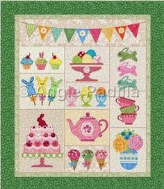 MooseStash Quilting: Easter Party Quilt-A-Long Block 4