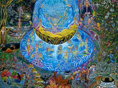 Pablo Amaringo - Known for  Ayahuasca Visions: The Religious Iconography of a Peruvian Shaman