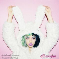 ❄Winter Time❄ ⛄wanna get a warm enough coat like #MelanieMartinez @littlebodybigheart ?? ⛄You NEED it!😍😍😍😍😍 Photo by @tancamera  sku:#SP130089 Click bio link 2 get ⛄🏿🏿🎅🏿🎅🏿⛄ (Last week for DHL/Express shipment, till 16th Jan; all shipment stop on 20th Jan)  #bunnycoat #fluffy #Love #girl #Lookbook #amazing #Popstar #rabbitcoat #bunnyhoodie