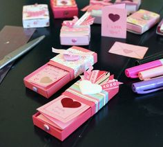 I want to make these and hide them for my husband to find  http://blog.swap-bot.com/2010/01/27/matchbox-enclosure-cards-tutorial-download/