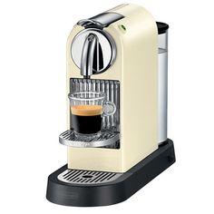 DeLonghi - Nespresso Citiz Cream Coffee Machine