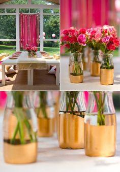 decorar botellas de vidrio 7