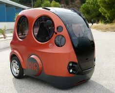 Believe it or not, this robot ladybird car is powered by air! But would you be seen trundling around town in it?
