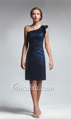 dc0393cdce07  abiti da cerimonia pizzo blu   wedding matrimonio civile Navy Lace  Bridesmaid Dress