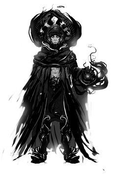 1h sketch by Oussama Agazzoum | Fantasy | 2D | CGSociety