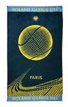 網球場的路上。to the tennis court: 法網2015紀念品:毛巾 - 2015 Roland Garros survivors: Towels