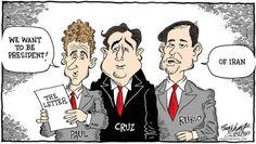 """BREAKING: Senators Paul, Cruz & Rubio announce their Presidential candidacies with a letter to Iran :)"" #p2"