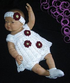 baby dress crochet baby dress baby outfit coming home