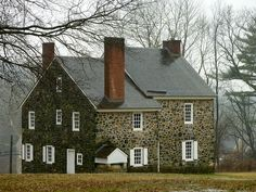 George Washington's Headquarters during the Battle of Brandywine. Pennsylvania