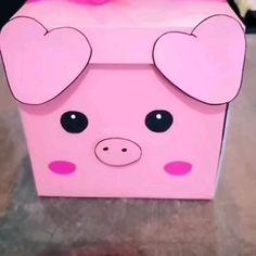 Cardboard Crafts Kids, Paper Crafts, Diy Crafts For Gifts, Diy Crafts Videos, Diy Barbie Furniture, Bff Birthday Gift, Diy Gift Box, Origami Art, Diy For Kids
