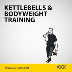 Visual Workouts For Everyone Full Body Kettlebell Workout, Kettlebell Training, Fitness Workouts, At Home Workouts, Body Weight Training, Kettlebells, Workout Ideas, Excercise, Random