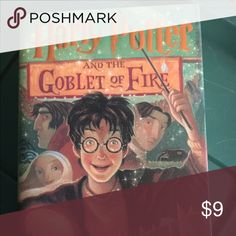 Harry Potter and the goblet of Fire book Harry Potter Hard Cover in excellent condition Other