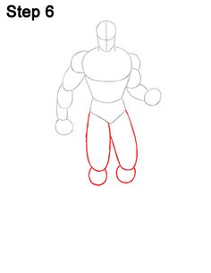 Superman Body Drawing 6 Superman Hair, Superman Drawing, Superman Costumes, Draw Two, Favorite Cartoon Character, Calf Muscles, Body Drawing, Head Shapes, Draw Your