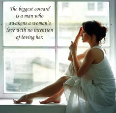 The biggest coward is ...