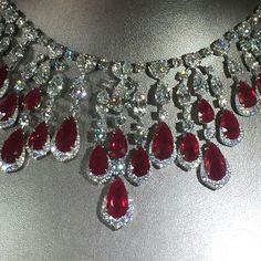 Scorching hot #rubies #diamonds @davidmorrisjeweller @britishvogue