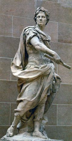 Юлий Цезарь. Скульптор Н. Кусто. 1696г.