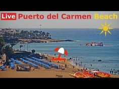 Lanzarote Webcam - LIVE HD Streaming from Puerto del Carmen Beach, Canar. Puerto Del Carmen, Travel Specials, Live Hd, Tour Operator, Canary Islands, Cayman Islands, Holiday Travel, The Dreamers, Hd Streaming
