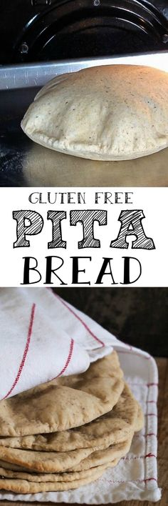 Gluten Free Recipes Gluten Free Pita Bread – substitute potato starch for possibly tapioca Starch in… Gf Recipes, Dairy Free Recipes, Cooking Recipes, Spinach Recipes, Gluten Free Pita Bread, Pains Sans Gluten, Bread Substitute, Sem Gluten Sem Lactose, Gluten Free Living