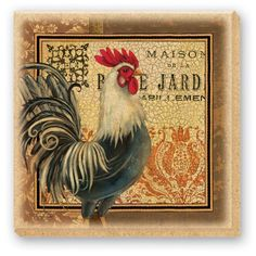 CounterArt Maison Rooster Design Natural Sandstone Absorbent Coasters, Set of 4 by Counter Art. $16.56. Beautiful, colorful design meets high functionality with this coaster set. Coasters are cut from natural sandstone with decorative transfer print. Cork backing protects surfaces from scratches. To remove coaster stains, soak coaster in 1 part household bleach and 3 parts water until stain lifts, then rinse and air dry. Set of 4 absorbent sandstone coasters. These CounterAr...