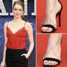 Emma Stone, Celebrity Feet, Sexy Feet, Beautiful Actresses, Camisole Top, Hollywood, Tank Tops, Formal Dresses, Women