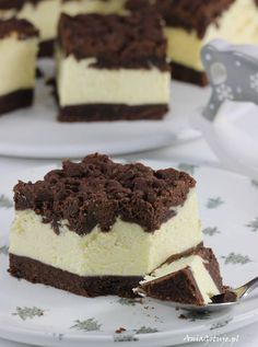 Sernik królewski, 10 Royal Cheesecake Recipe, Cheesecake Recipes, Dessert Recipes, Kolaci I Torte, Polish Recipes, Russian Recipes, Pavlova, Baking Tips, Tiramisu