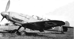 Israeli Avia S-199 - This is a post WWII German Messerschmitt BF-109 that Israel ued in the 1948 Arab/Israeli War. It was manufactured in Czechoslovakia using plans and parts left over from Luftwaffe aircraft production.